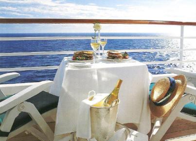 Charters, Groups, Penthouse, Balcony, Windows, Owner Suite, Veranda - Luxury Crystal Cruises
