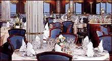 7 Seas LUXURY Crystal Cruise Dining