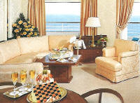 Crystal Luxury Cruises Symphony: CP Penthouse