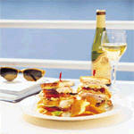 Crystal Cruises: Casual Daytime Dining