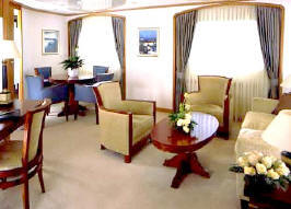 Charters, Groups, Penthouse, Balcony, Windows, Owner Suite, Veranda - Luxury Seadream Cruises Cruises: Owner's Suite