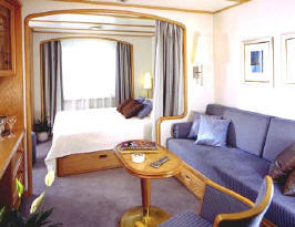 Charters, Groups, Penthouse, Balcony, Windows, Owner Suite, Veranda - Luxury Seadream Cruises Cruises: Yacht Club Stateroom