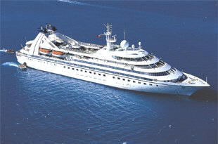 7 Seas Cruises Luxury Seabourn Ovation, Encore