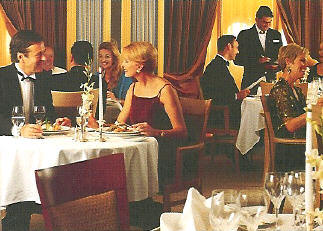 Charters, Groups, Penthouse, Balcony, Windows, Owner Suite, Veranda - Luxury Seabourn Cruises: Dinner on a Formal Night