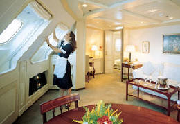 Charters, Groups, Penthouse, Balcony, Windows, Owner Suite, Veranda - Luxury Silversea Cruises Royal Suite