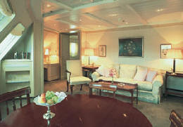 Charters, Groups, Penthouse, Balcony, Windows, Owner Suite, Veranda - Luxury Silversea Cruises Grand Suite