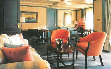 Luxury Cruise SilverseaCruises Owner Suite on Cloud or Wind
