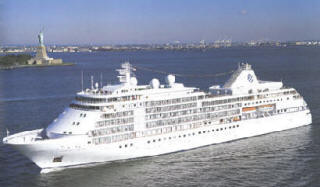 7 Seas LUXURY Cruise Silversea Whisper