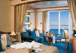 7 Seas LUXURY Cruise Silversea Luxury Cruise Veranda Suite