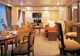 Single Balconies/Suites Silversea Cruises Owner's Suite
