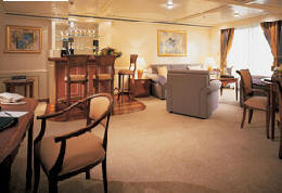 Single Balconies/Suites Silversea Cruises Grand Suite