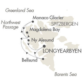 World CRUISE SHIP BIDS Le Boreal July 20-27 2023 Longyearbyen, Svalbard And Jan Mayen to Longyearbyen, Svalbard And Jan Mayen