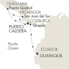 LUXURY CRUISES - Penthouse, Veranda, Balconies, Windows and Suites Cruises Le Boreal March 23-31 2019 Guayaquil, Ecuador to Puerto Caldera, Costa Rica