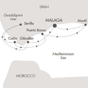 Singles Cruise - Balconies-Suites Cruises Le Lyrial April 15-22 2019 Malaga, Spain to Malaga, Spain