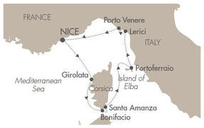 HONEYMOON Le Ponant July 11-18 2023 Nice, France to Nice, France