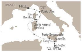 HONEYMOON Le Ponant May 5-12 2023 Nice, France to Valletta, Malta