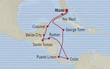 SINGLE Cruise - Balconies-Suites Oceania Insignia December 11-23 2019 Miami, FL, United States to Miami, FL, United States