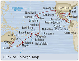HONEYMOON Oceania Insignia May 9 July 1 2020 Sydney, Australia to Miami, FL, United States