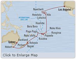 LUXURY CRUISES - Penthouse, Veranda, Balconies, Windows and Suites Oceania Insignia May 9 June 15 2022 Sydney, Australia to Los Angeles, CA, United States