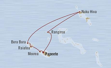 SINGLE Cruise - Balconies-Suites Oceania Marina January 25 February 4 2019 Papeete, French Polynesia to Papeete, French Polynesia