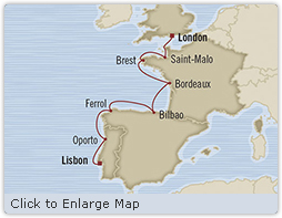 Singles Cruise - Balconies-Suites Oceania Marina June 7-14 2019 Lisbon, Portugal to Southampton, United Kingdom