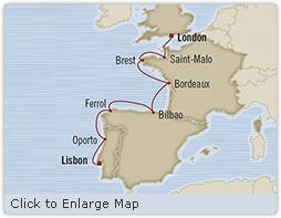 LUXURY CRUISE - Balconies-Suites Oceania Marina June 7-14 2019 Lisbon, Portugal to Southampton, United Kingdom