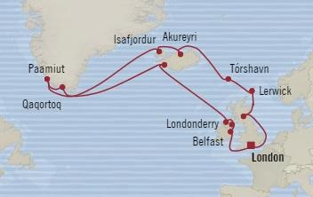 HONEYMOON Oceania Nautica July 15 August 4 2020 Southampton, United Kingdom to Southampton, United Kingdom