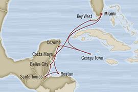 SINGLE Cruise - Balconies-Suites Oceania Regatta April 2-12 2019 Miami, FL, United States to Miami, FL, United States
