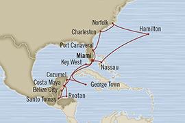 World Cruise BIDS - Oceania Regatta April 2-24 2023 Miami, FL, United States to Miami, FL, United States