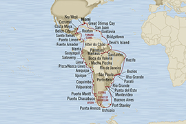 World CRUISE SHIP BIDS - Oceania Regatta January 20 April 2 2023 Miami, FL, United States to Miami, FL, United States
