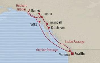 SINGLE Cruise - Balconies-Suites Oceania Regatta July 15-25 2019 Seattle, WA, United States to Seattle, WA, United States