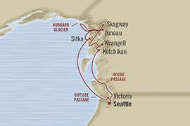 SINGLE Cruise - Balconies-Suites Oceania Regatta May 30 June 9 2019 Seattle, WA, United States to Seattle, WA, United States