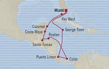 World Cruise BIDS - Oceania Regatta November 17-29 2023 Miami, FL, United States to Miami, FL, United States