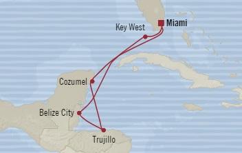 Singles Cruise - Balconies-Suites Oceania Riviera December 15-22 2019 Miami, FL, United States to Miami, FL, United States
