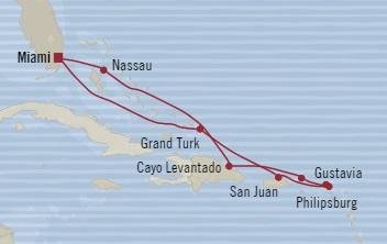SINGLE Cruise - Balconies-Suites Oceania Riviera December 5-15 2019 Miami, FL, United States to Miami, FL, United States