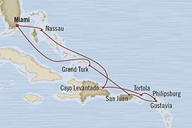 SINGLE Cruise - Balconies-Suites Oceania Riviera February 12-22 2019 Miami, FL, United States to Miami, FL, United States