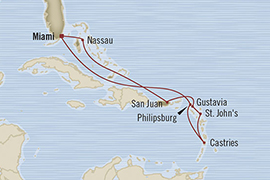 LUXURY CRUISE - Balconies-Suites Oceania Riviera February 22 March 3 2019 Miami, FL, United States to Miami, FL, United States