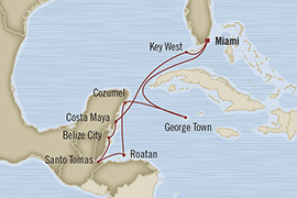 SINGLE Cruise - Balconies-Suites Oceania Riviera January 13-23 2019 Miami, FL, United States to Miami, FL, United States