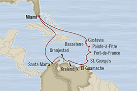 Singles Cruise - Balconies-Suites Oceania Riviera March 20 April 3 2019 Miami, FL, United States to Miami, FL, United States