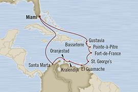 SINGLE Cruise - Balconies-Suites Oceania Riviera March 20 April 3 2019 Miami, FL, United States to Miami, FL, United States