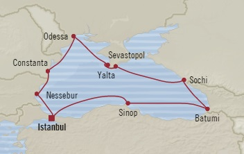 Singles Cruise - Balconies-Suites Oceania Riviera September 12-22 2019 Istanbul, Turkey to Istanbul, Turkey