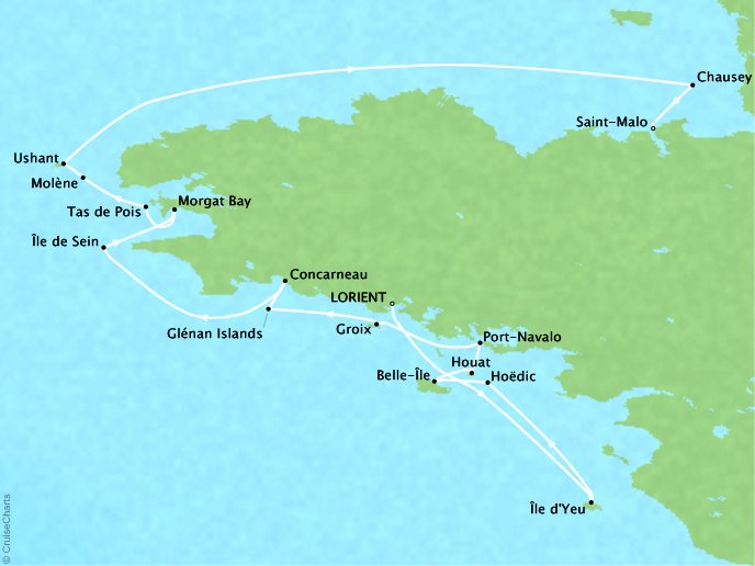 Ponant Cruises Le Soleal Itinerary April 1926 2018