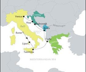 LUXURY CRUISE - Balconies-Suites Cruises Tere Moana August 13-20 2019 Civitavecchia, Italy to Venice, Italy
