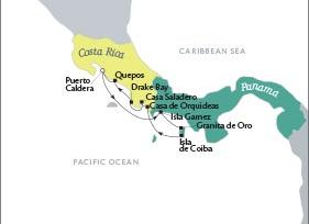Luxury World Cruise SHIP BIDS Tere Moana December 17-23 2023 Puerto Caldera, Costa Rica to Puerto Caldera, Costa Rica