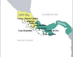 Singles Cruise - Balconies-Suites Cruises Tere Moana December 23-30 2019 Puerto Caldera, Costa Rica to Puerto Caldera, Costa Rica