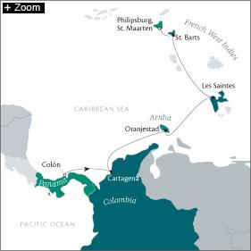 SINGLE Cruise - Balconies-Suites CRUISE Tere Moana March 11-19 2019 Colón, Panama to Philipsburg, Sint Maarten