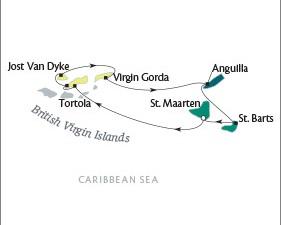 LUXURY CRUISE - Balconies-Suites Cruises Tere Moana March 19-26 2019 Philipsburg, Sint Maarten to Philipsburg, Sint Maarten