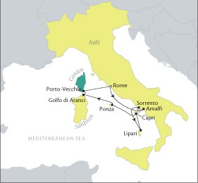 LUXURY CRUISE - Balconies-Suites Cruises Tere Moana October 15-22 2019 Rome, Italy to Civitavecchia, Italy