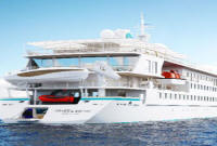 LUXURY WORLD CRUISES - Penthouse, Veranda, Balconies, Windows and Suites New Crystal Cruises Esprit - World Cruise
