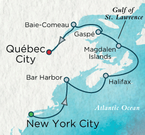 LUXURY CRUISES - Penthouse, Veranda, Balconies, Windows and Suites French Canadian Jubilee Map Crystal Cruises Serenity 2022 World Cruise